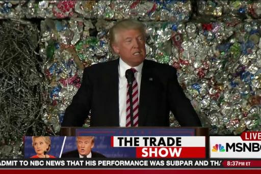 Trump trade plan panned