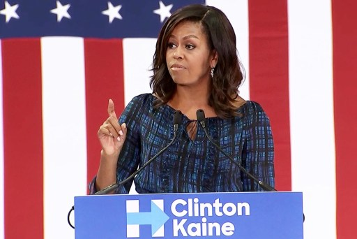 Michelle Obama calls out birtherism
