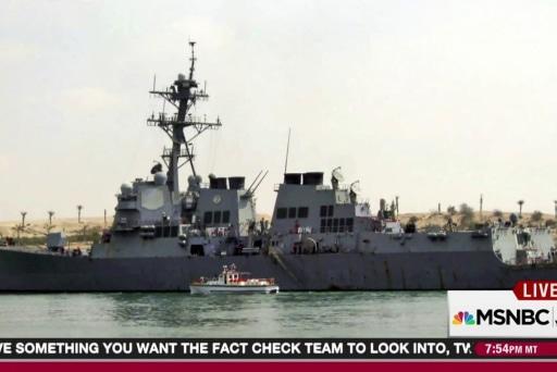 Iran warships raise stakes for US near Yemen