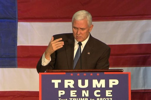 """Pence: """"American people sick of pay-to..."""