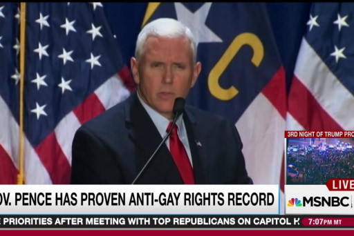 Pence anti-gay extremism often overlooked
