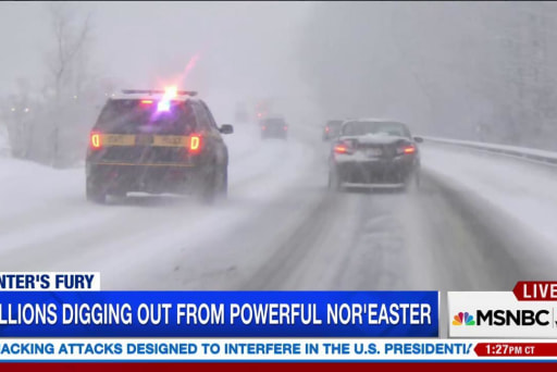 Millions prepare for powerful storm