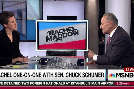 Schumer: Trump captured by hard right