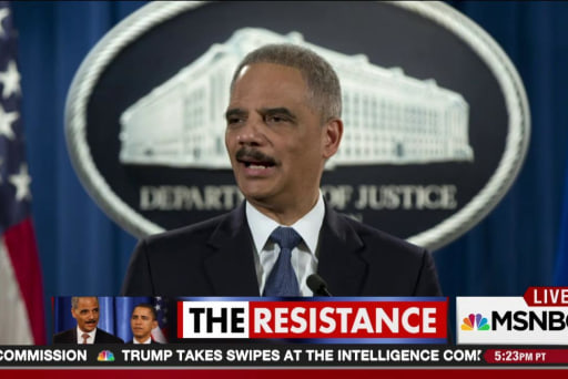 CA hires Eric Holder to fight Trump