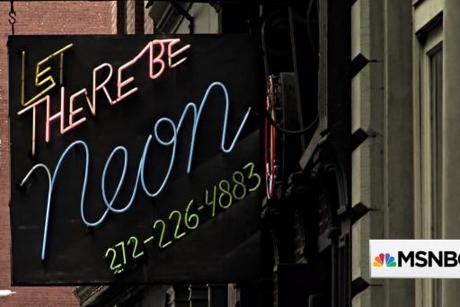 Saving the art of neon lights
