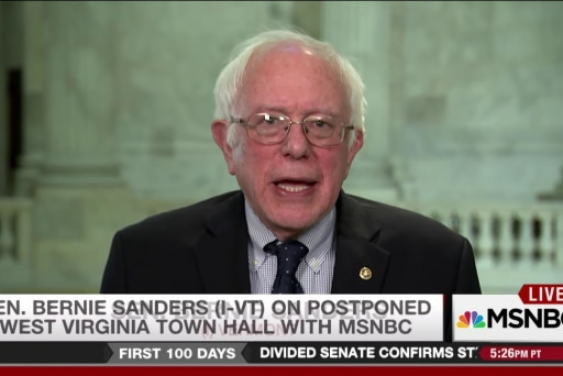 Sanders responds to town hall postponement