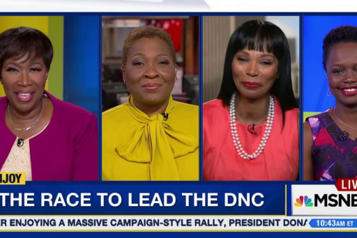 The race to lead the DNC