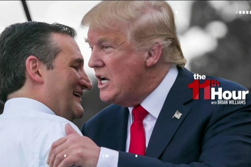 Cruz dines at Trump White House after...