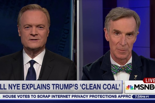 Bill Nye on Trump's climate orders: 'Clean...