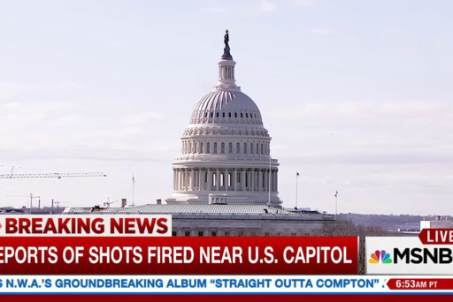 Reports of Shots Fired Near the U.S. Capitol