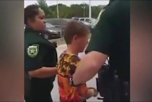Shocking Video Shows Arrest of 10-Year-Old...