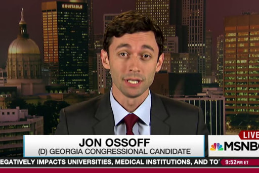 Ossoff builds local strategy in national eye
