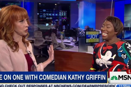 Kathy Griffin on FOX: 'Old people like...