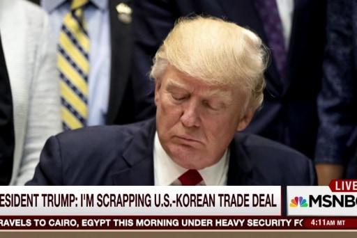 Trump signals risk of 'major, major...
