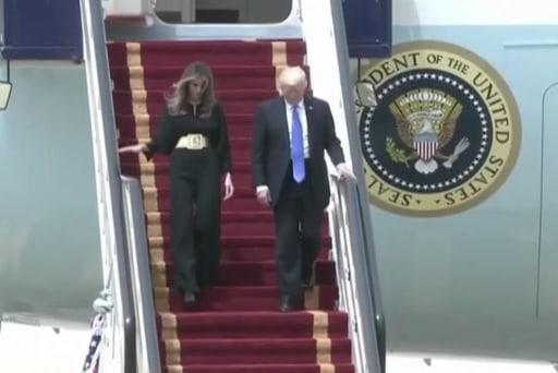 Trump's jubilant reception in the Arab world