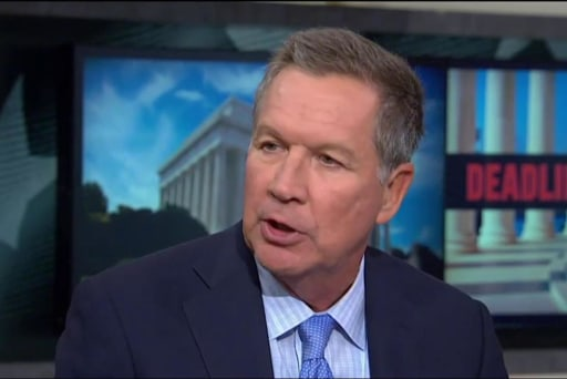 Kasich: 'We Don't Want to Have a Wounded...