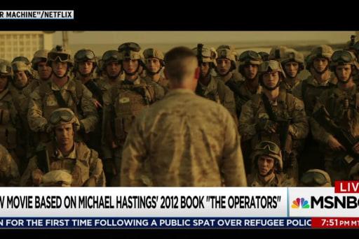 'War Machine' examines US Afghanistan policy