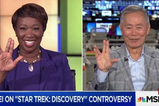 Takei boldly silences 'Star Trek'...