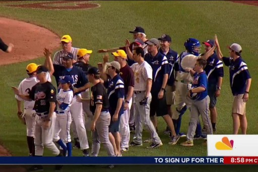Congressional game goes on, victims in mind