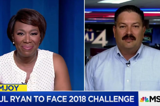 Ironworker Randy Bryce challenges Paul Ryan