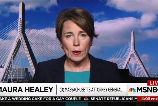 Massachusetts AG on travel ban: We look...