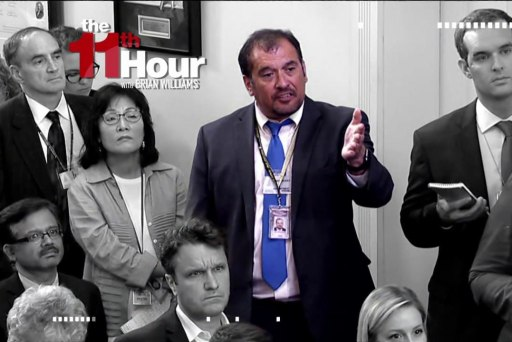 Reporter who blasted White House's 'fake...
