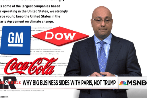 Why big business sides with Paris, not Trump
