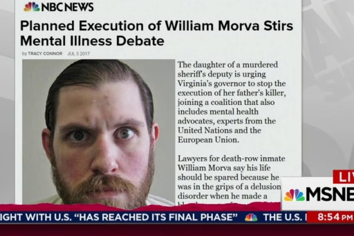 Mental health an issue in Virginia execution