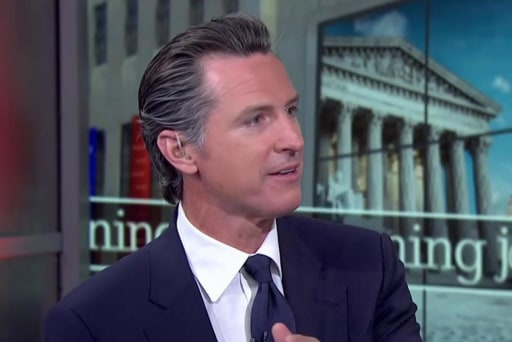 Newsom explains why Russia does nothing...