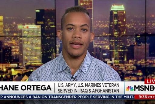 Trump spurns serving transgender US military
