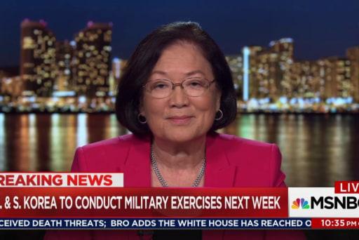 Dem Sen. Hirono on Trump & North Korea:...