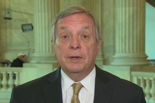 Durbin: I will stand with Trump if he...