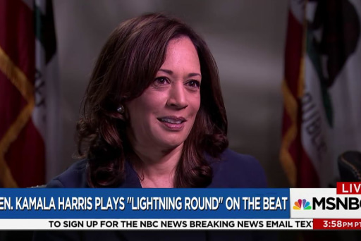 Kamala Harris on her favorite songs and...