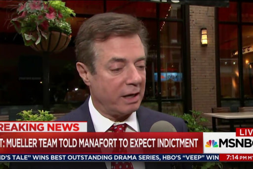 Manafort given 'shock-and-awe' treatment: NYT
