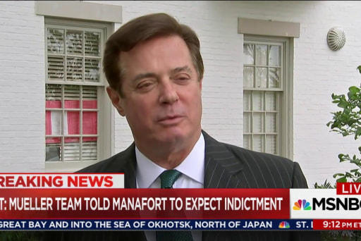 Paul Manafort threatened with indictment: NYT
