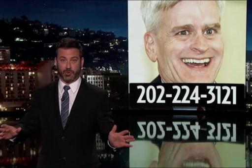 Jimmy Kimmel: Bill Cassidy lied right to...
