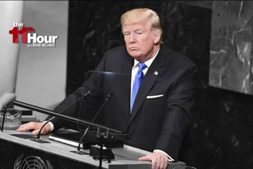 Trump's UN speech completely devoid of...