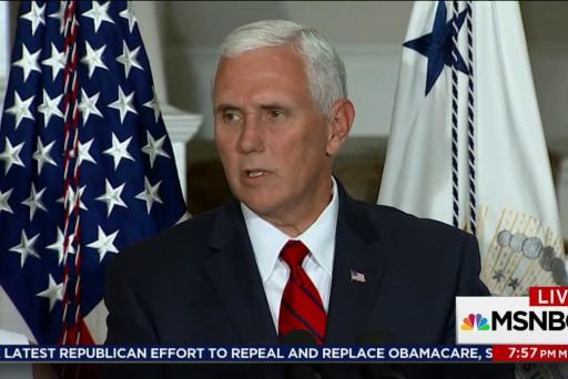 Pence fundraising not going to own lawyer