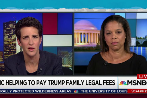 Campaign bails out Trump, son on legal fees