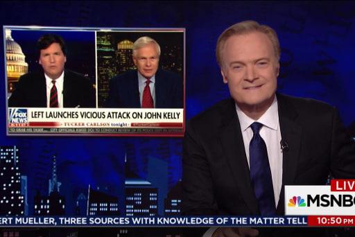 Lawrence Rewrites Fox News re: John Kelly