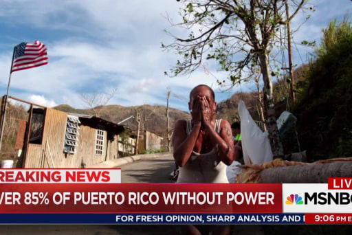Weak response leaves Puerto Rico backsliding one month post-storm