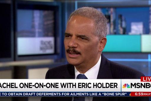 Holder confident in Mueller investigation