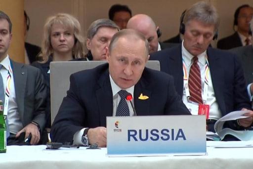Putin Rival Speaks On Putin's Political...