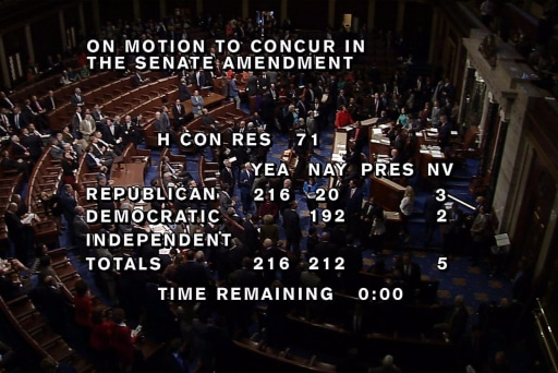 House Narrowly Passes Budget, Paves Way...
