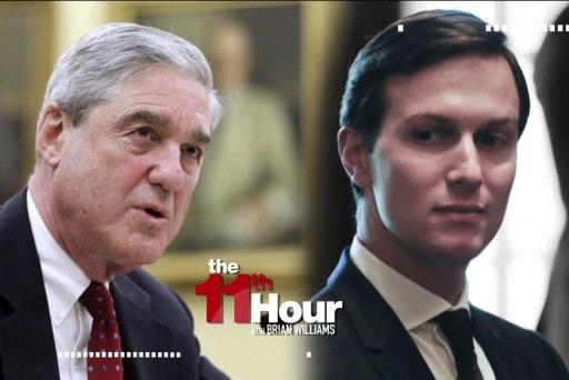 WSJ: Mueller probing Kushner's world...