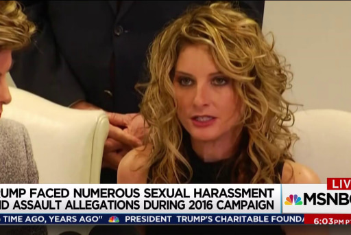 Trump sex harassment accuser seeks campaign documents at court