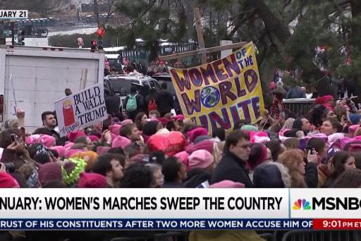 Women lead political backlash against Trump