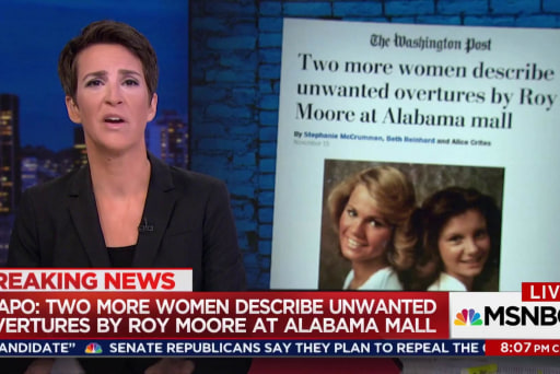 More women report lurid Roy Moore behavior