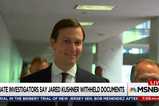 Kushner asked for info about Russian overture