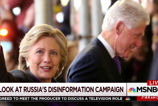 Politico looks at Russia's disinformation...